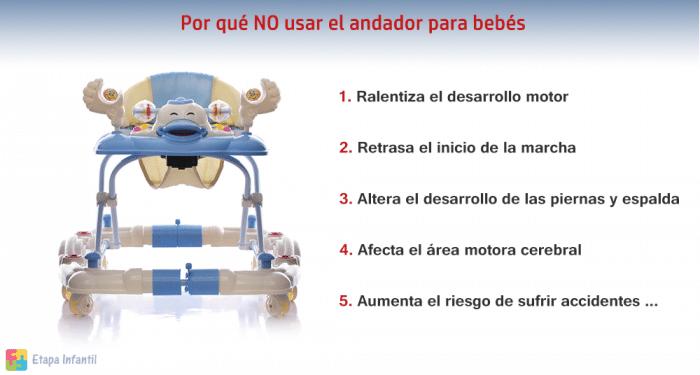 Por qué NO usar el andador de bebés