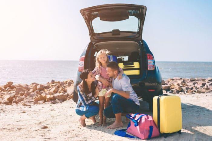 Viajes por carretera con los niños
