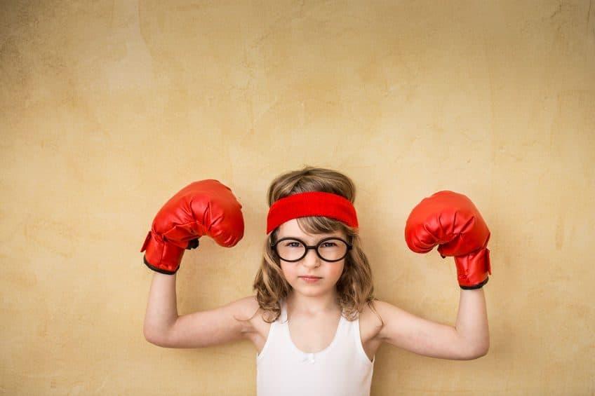 crear niñas fuertes