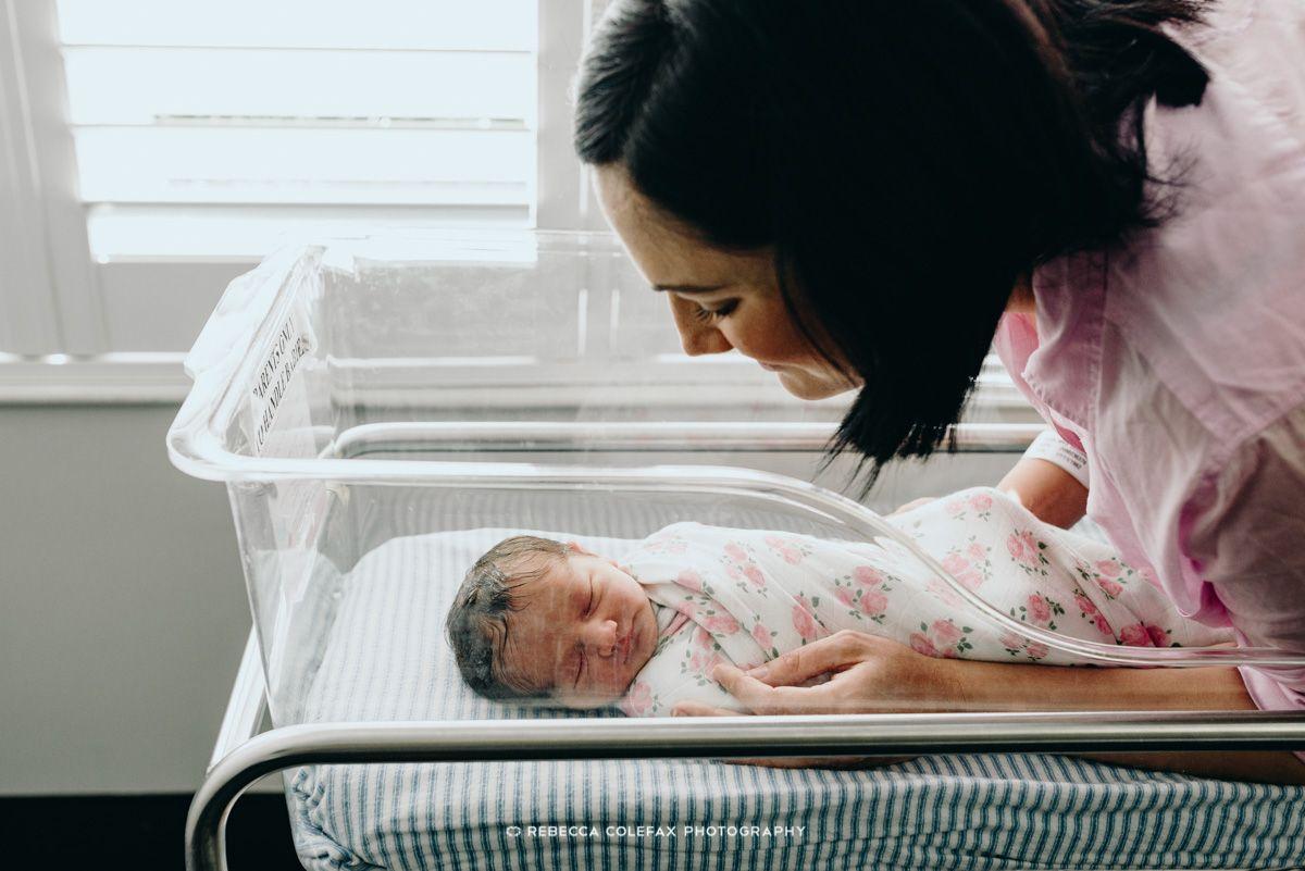 Mamá y recién nacido