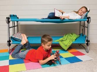Disc-O-Bed Kid-O-Bunk Cuna camping cama litera