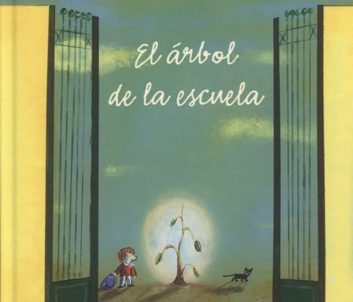 Libro infantil valores El árbol de la escuela
