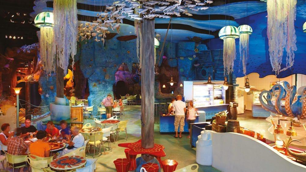 Parque temático Efteling Restaurante Octopus