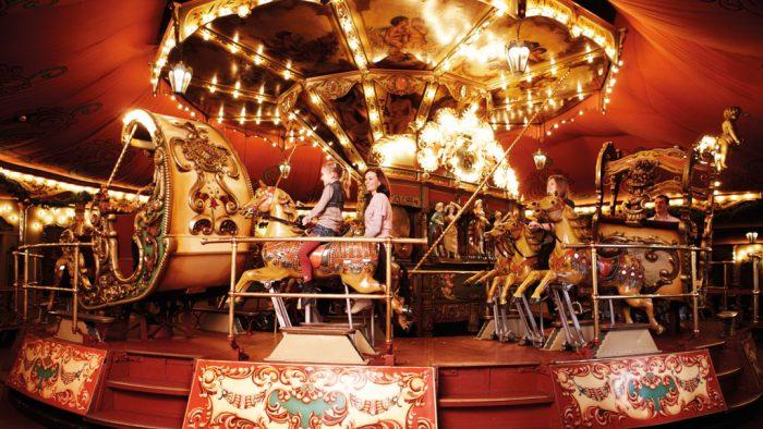 Parque temático Efteling World of Wonders Carrusel