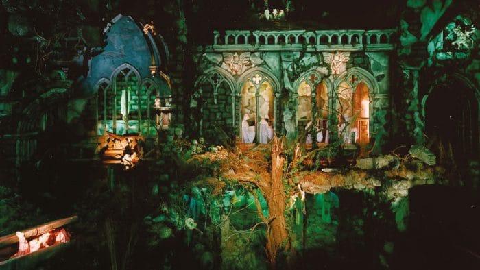 Parque temático Efteling World of Wonders casa embrujada Spookslot