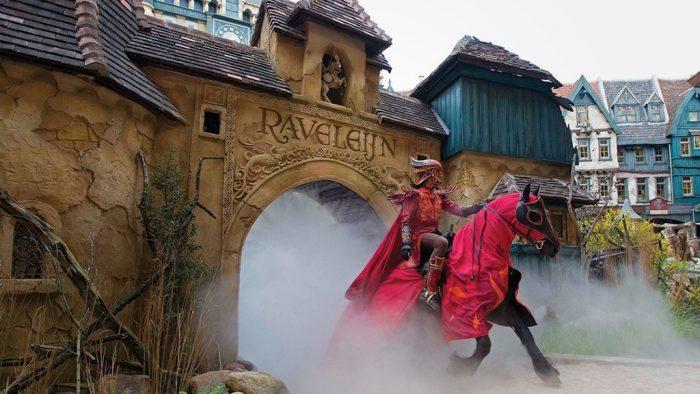 Parque temático Efteling World of Wonders espectáculo show Raveleijn