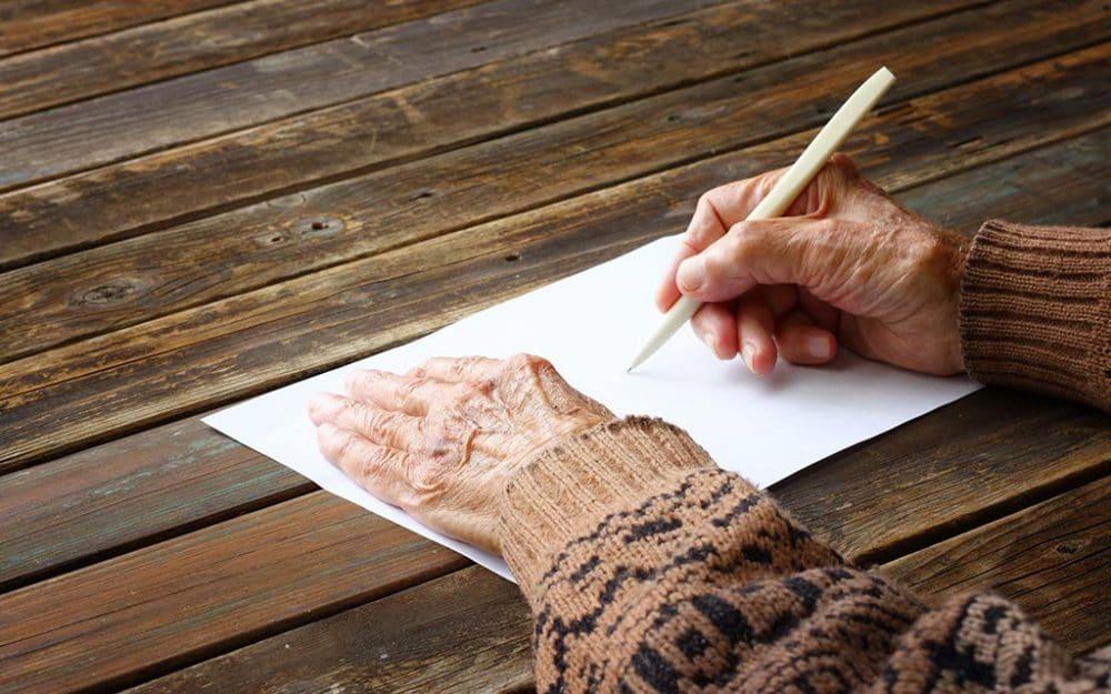 carta anciana sola