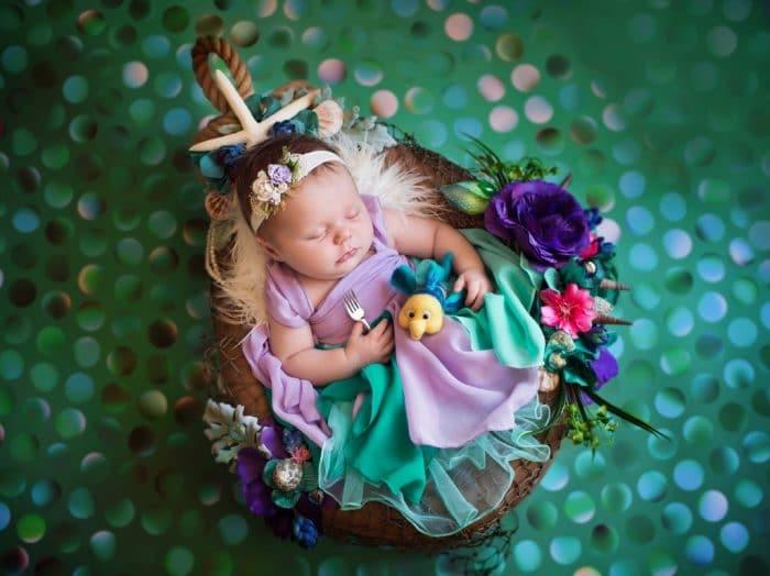 Foto bebé Disney Ariel (La Sirenita)