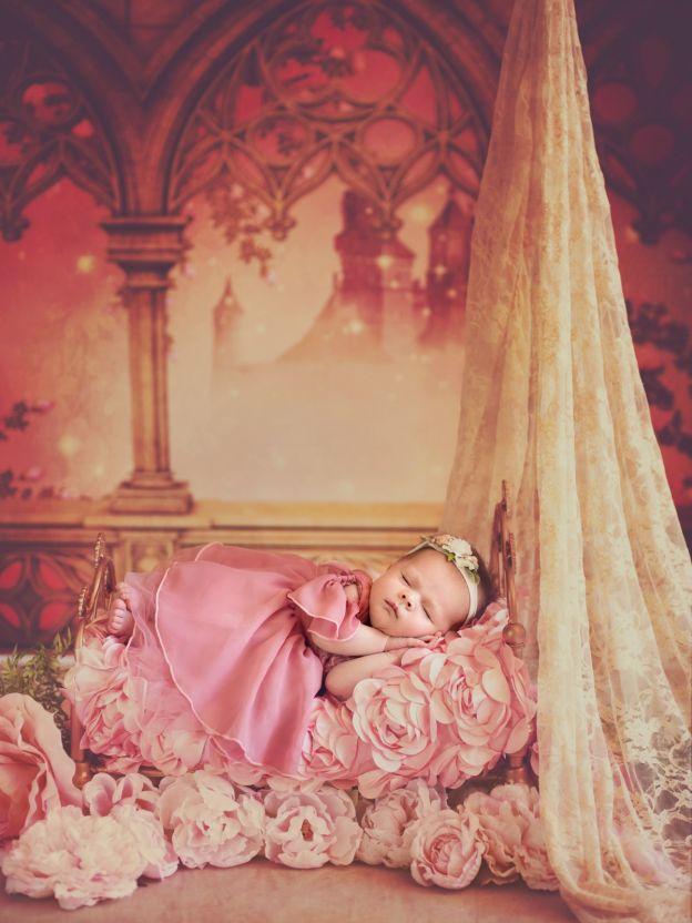 Aurora (La bella durmiente) Foto bebé princesa Disney