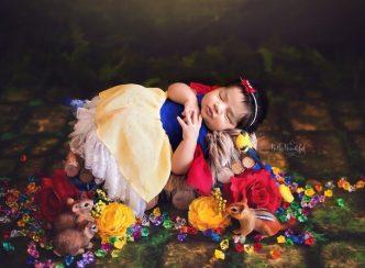 Blancanieves (Blancanieves y los siete enanitos) Foto bebé princesa Disney