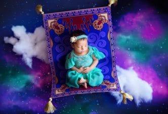 Jasmine (Aladdin) Foto bebé princesa Disney
