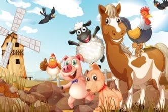 Canciones de animales de granja para niños