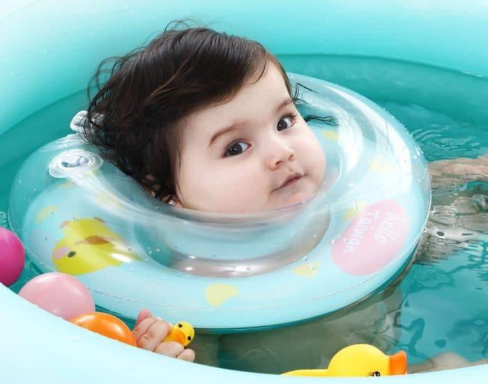 Flotadores de cuello para beb s son realmente seguros for Sillas para que coman los bebes