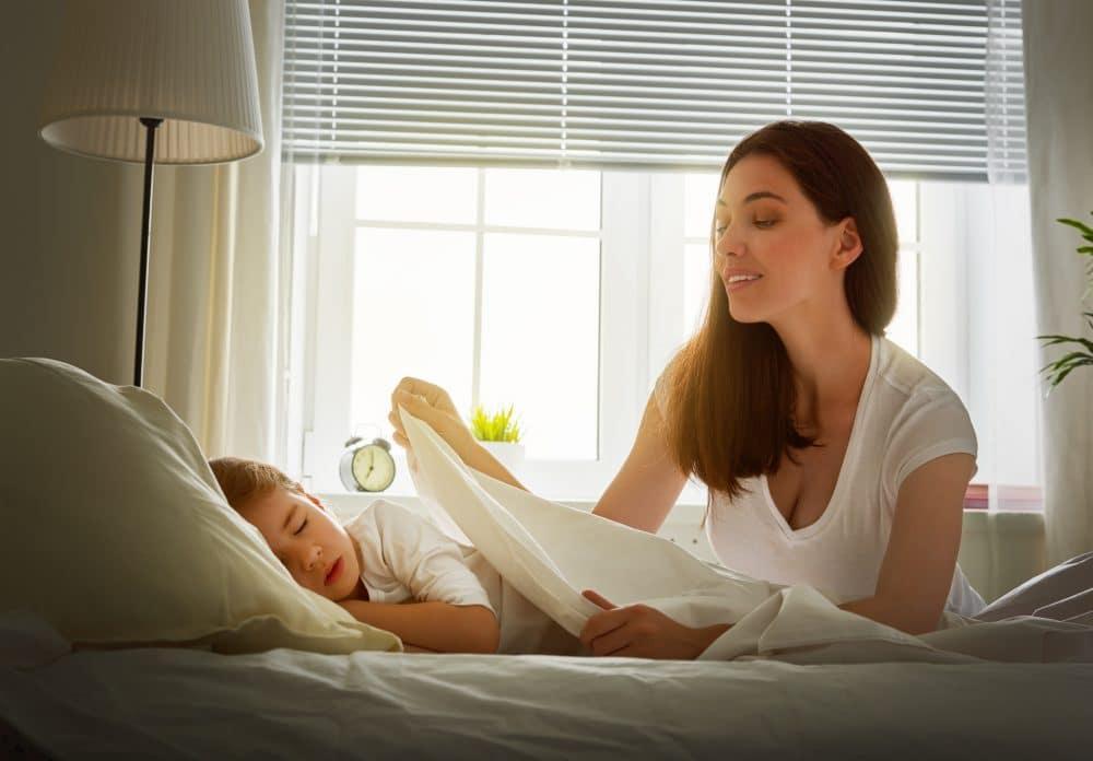 Los niños deben dormir en su propia cama