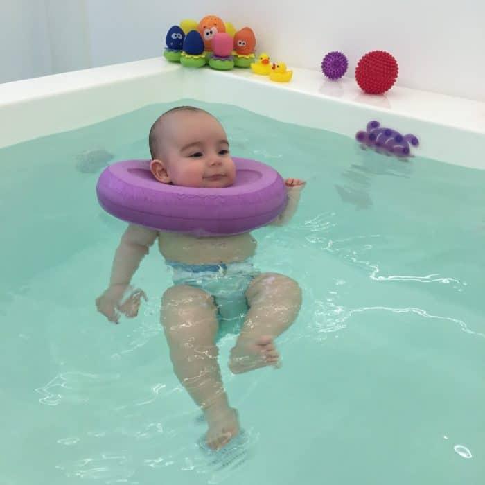 flotador cuello bebe