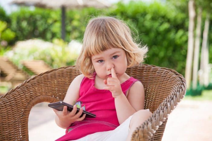 no subir fotos niños redes sociales