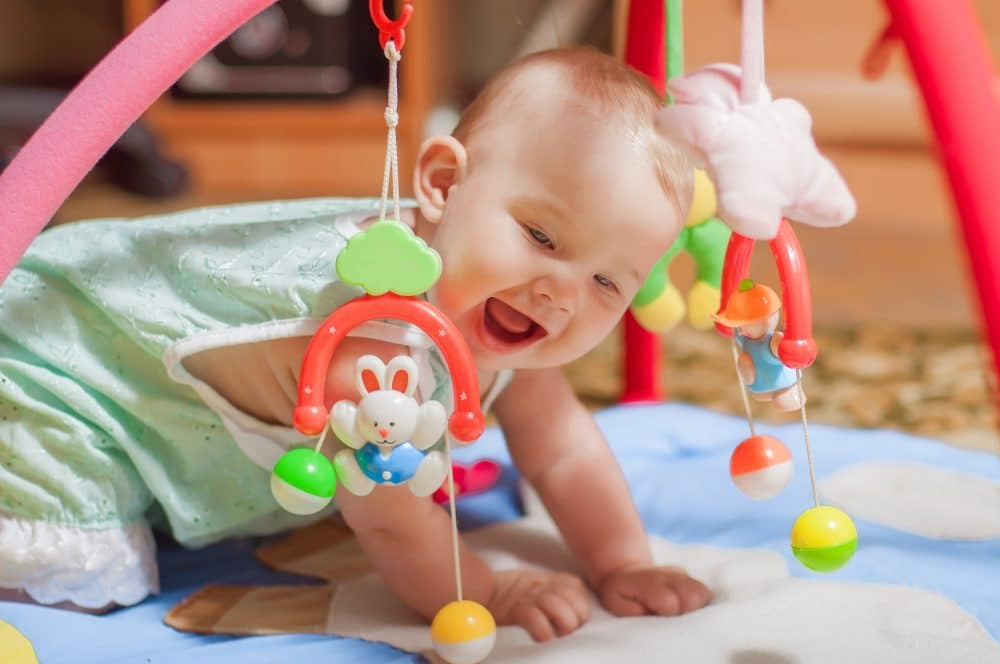 10 ejercicios de estimulaci n temprana para tu beb etapa infantil - Estimulacion bebe 3 meses ...