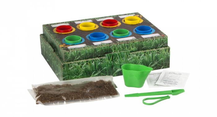 Huerto botánico para niños