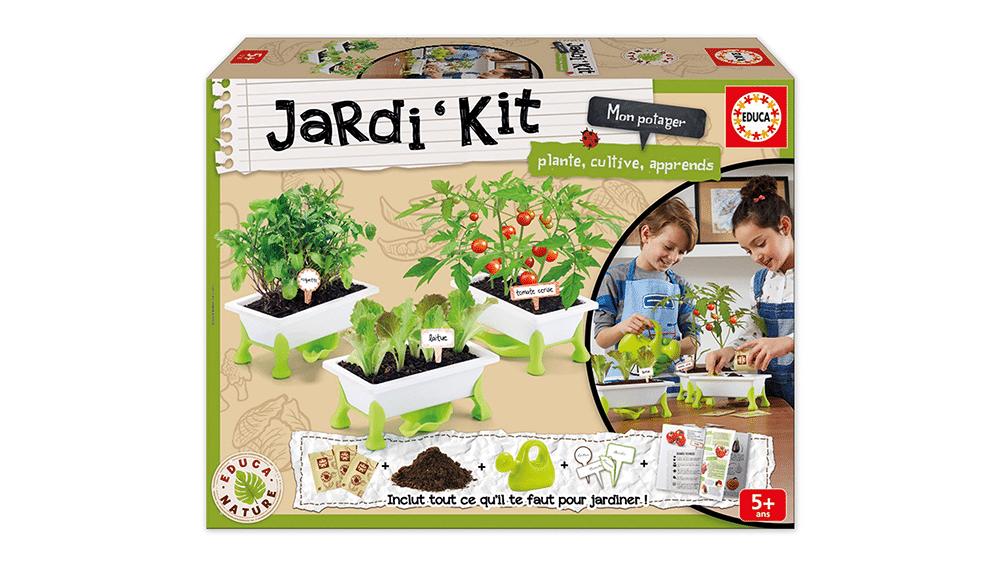 Kit de jardinería huerto urbano