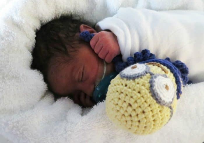 Pulpos de ganchillo para los bebés prematuros