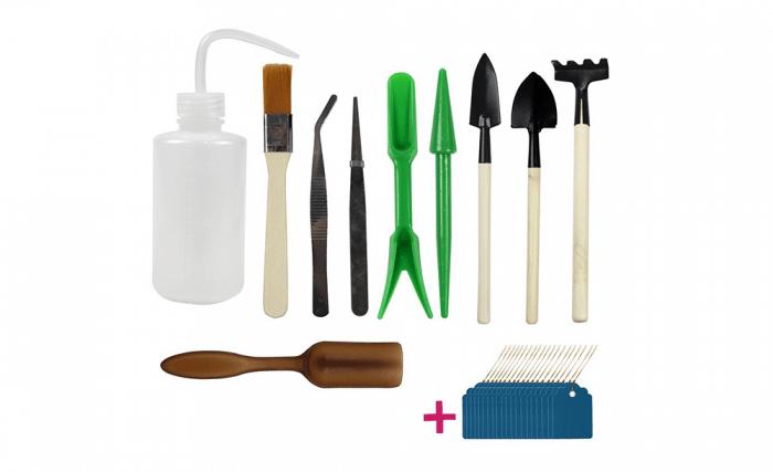 Set de herramientas huerto infantil