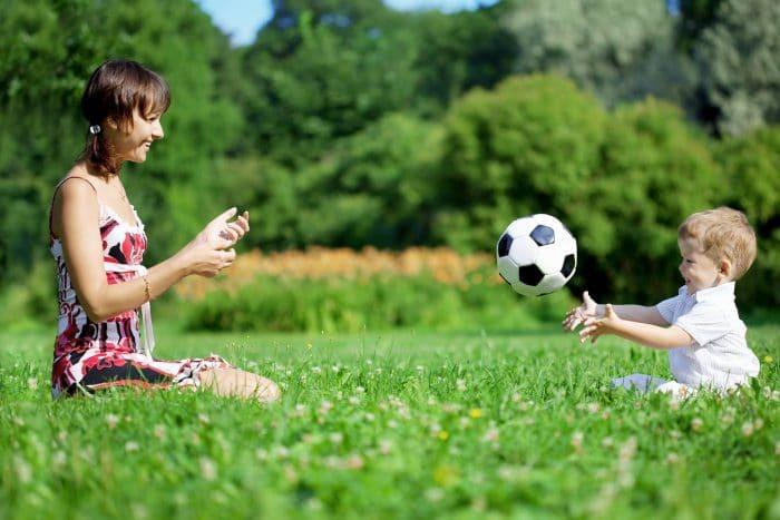 Simplicidad entorno niños tranquilos