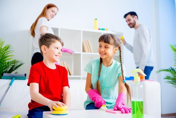 Tareas domesticas niños