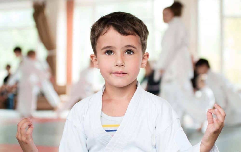 Artes marciales para niños con TDAH