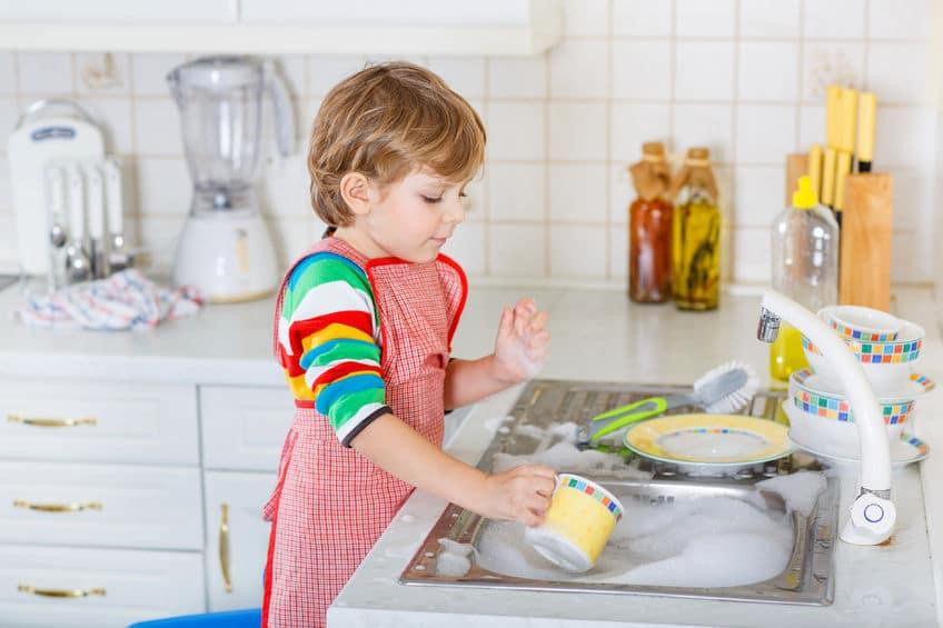 hijos tareas domesticas