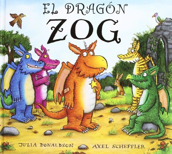 Cuento El dragón Zog, de Julia Donaldson y Axel Scheffler