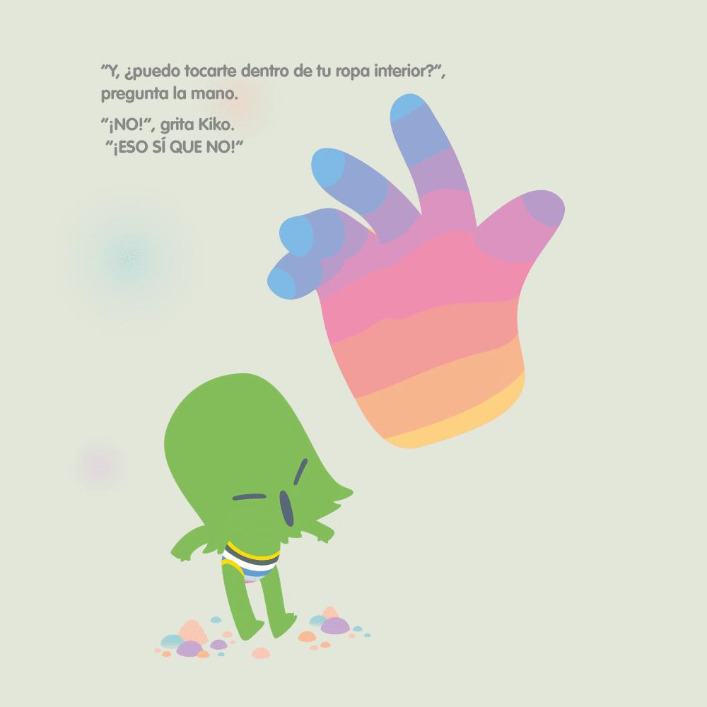 Cuento Kiko y la mano