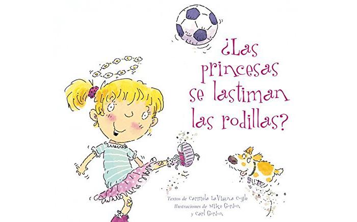 Cuento Las princesas se lastiman las rodillas, de Carmela Lavigna Coyle