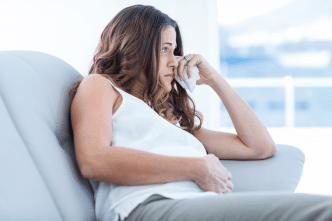 Llorar en el embarazo afecta al bebe