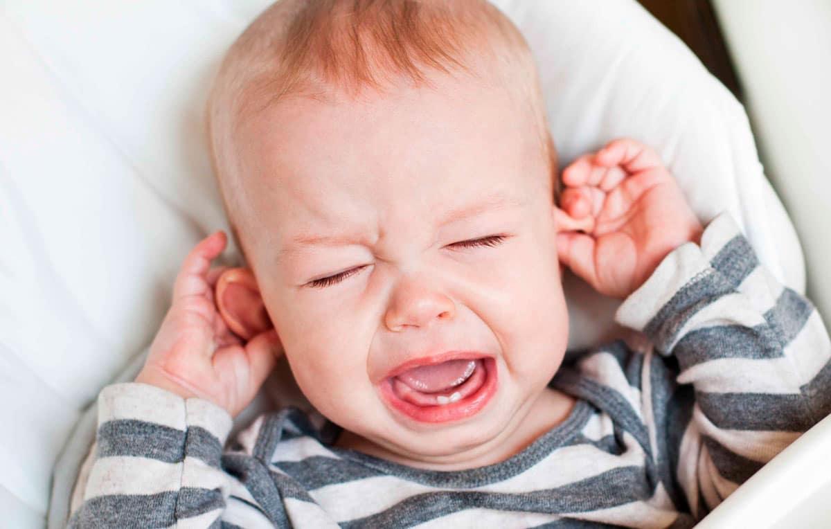 Otitis bebé