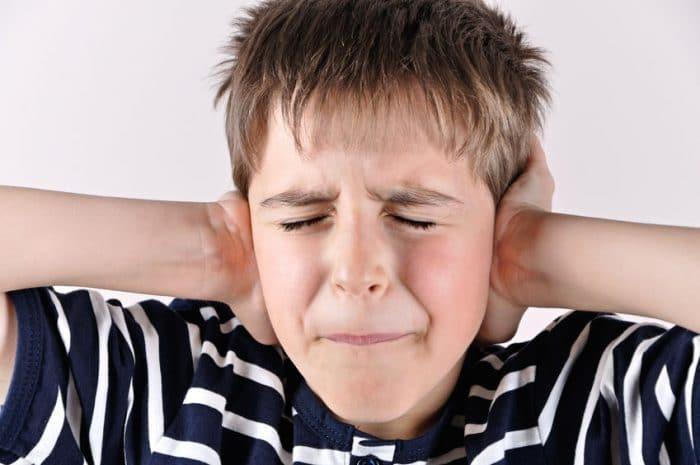 Sintomas de Trastorno del Procesamiento Sensorial con hipersensibilidad