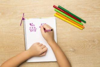 Trucos para aprender las tablas de multiplicar para niños