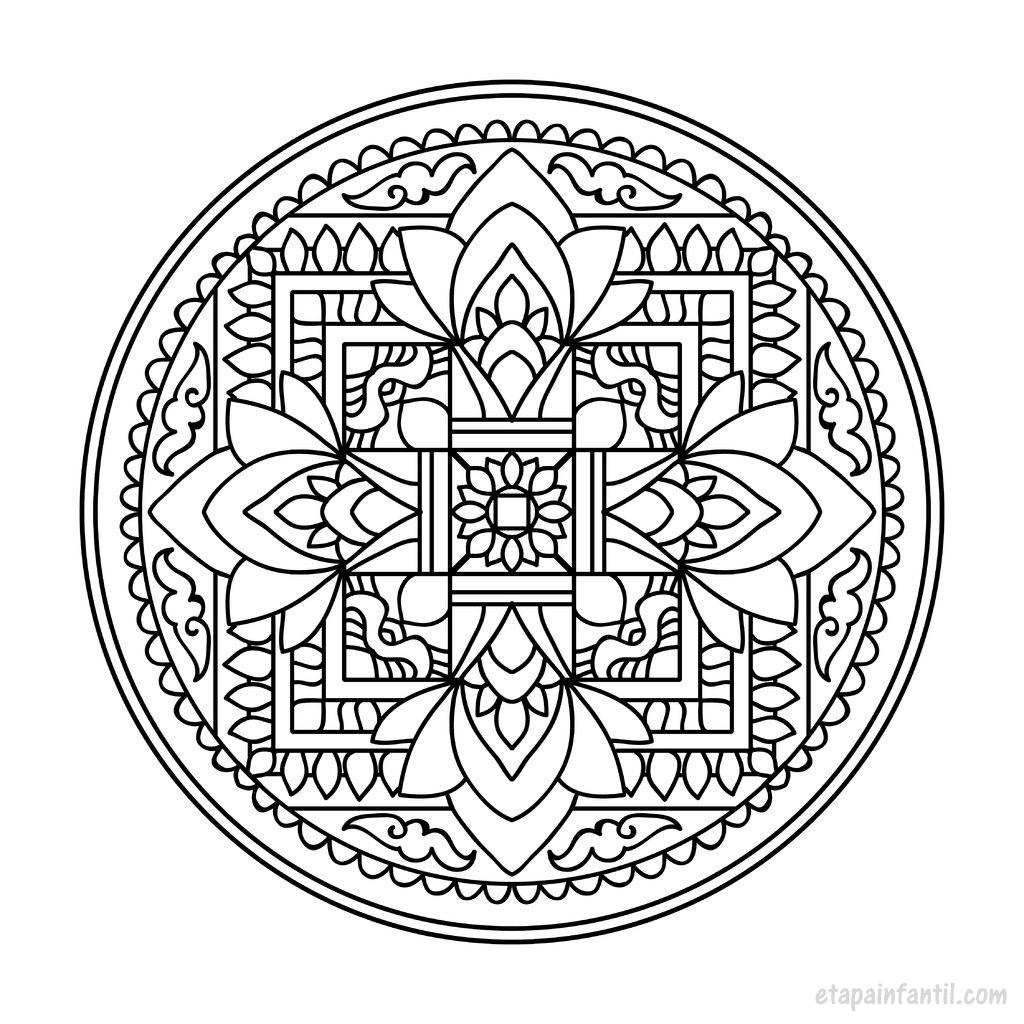 Mandalas para imprimir y colorear: Beneficios de los mandalas para