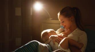 lactancia materna nocturna hasta que cuando