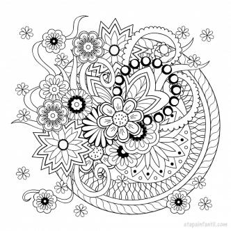 Mandalas imprimir colorear