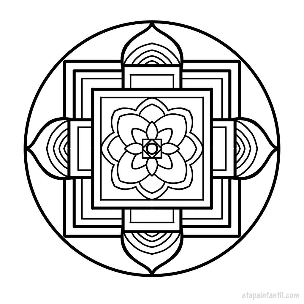 Mandalas Para Imprimir Y Colorear Beneficios De Los