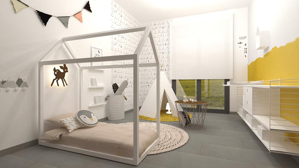 Cama Montessori casita