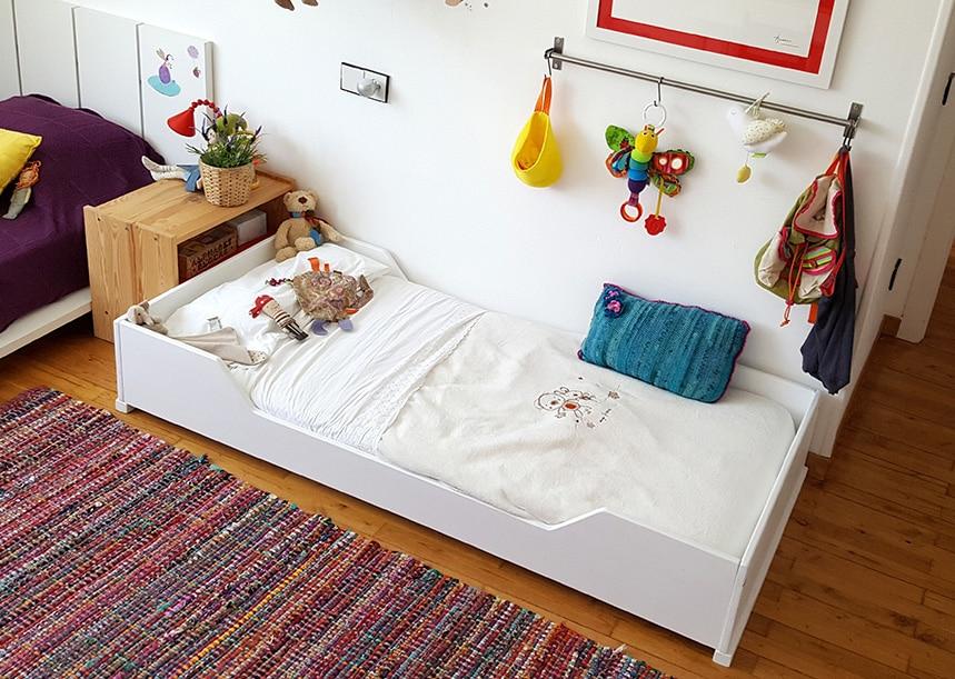 Por qu los ni os deber an dormir en camas montessori etapa infantil - Camas con tobogan para ninos ...