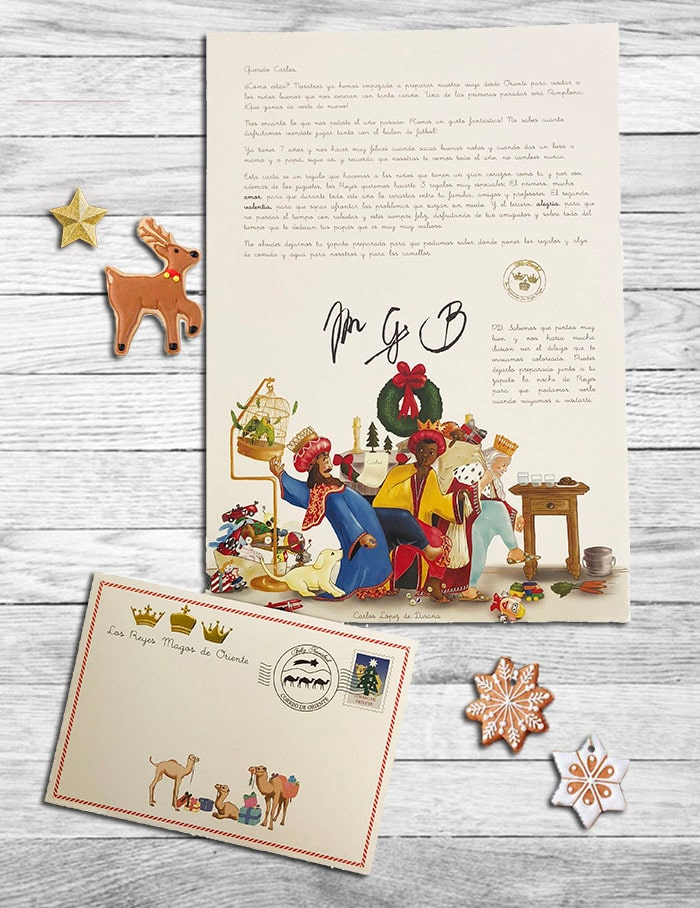 Carta personalizada Reyes Magos