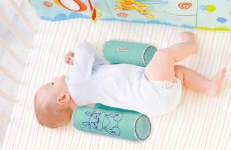 Cojines antivuelco o posicionadores para dormir para bebés