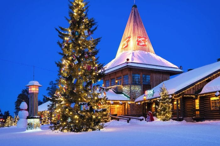 ¿Dónde vive Papá Noel?