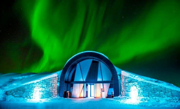 IceHotel, en Jukkasjärvi, Suecia