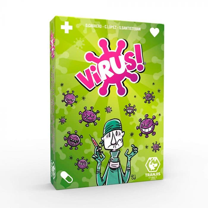 Juego de cartas Virus!