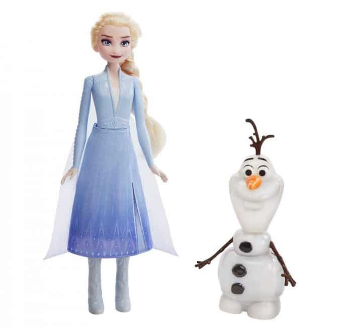 Juguete Elsa y Olaf de Frozen