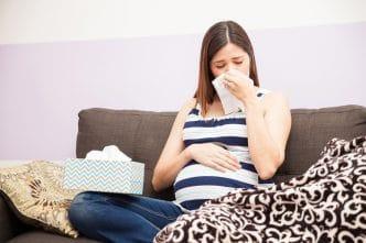 Resfriada en el embarazo qué tomar