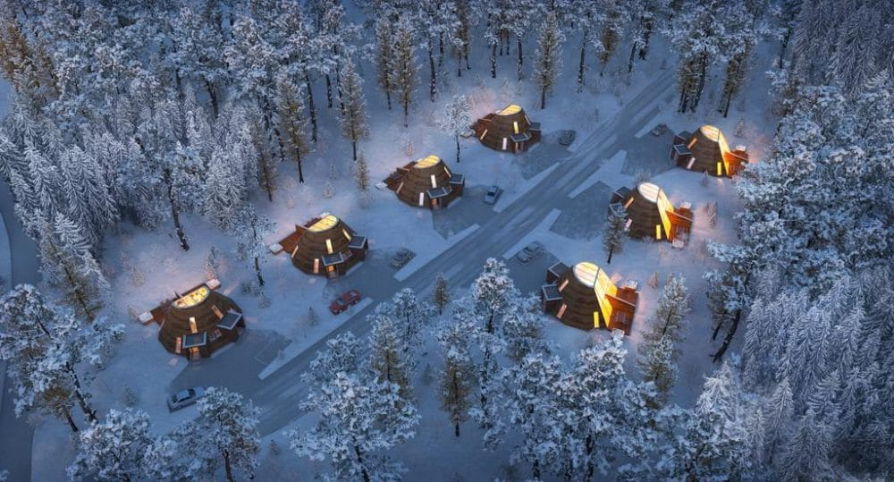 Snowman World Igloo Hotel & Glass Resort, en Rovaniemi